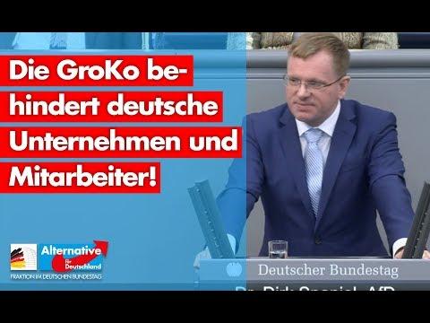 Die GroKo behindert deutsche Unternehmen und Mitarbeiter! - Dirk Spaniel - AfD-Fraktion im Bundestag
