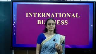 I PUC | BUSINESS STUDIES  | International Business  - 02