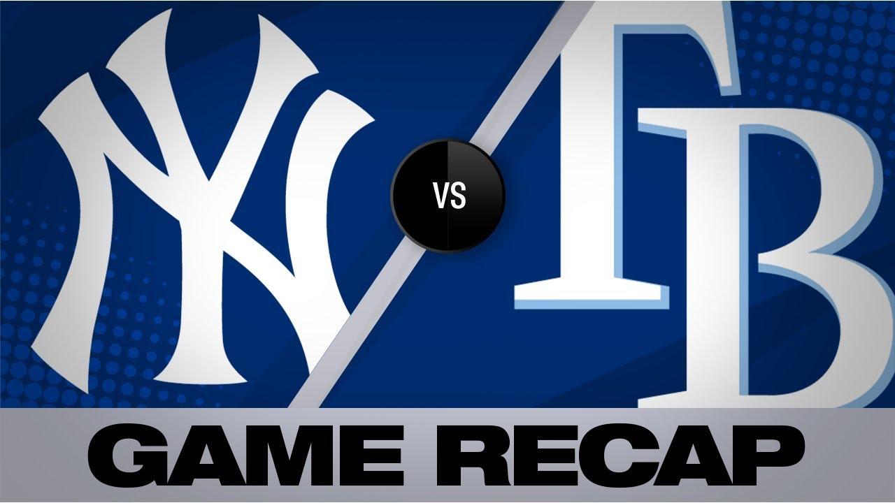 Morton K's 10 in close win vs. Yanks   Yankees-Rays Game Highlights 7/5/19