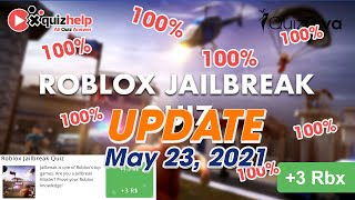Roblox Jailbreak Quiz Answers 100% | Quiz Diva | QuizHelp.Top