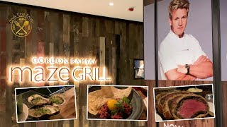 【Maze Grill】Gordon Ramsay 香港分店 威靈頓牛點解咁生咁紅? - My Visit to Maze Grill Hong Kong by Gordon Ramsay 2019