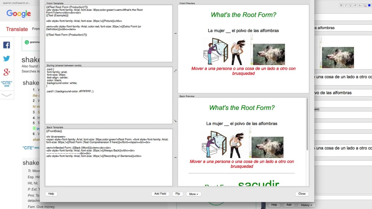 Three New Flashcard Types, Video 2: How to make them