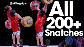 All Snatches 200kg / 440 lbs & Greater 2015 World Weightlifting Championships