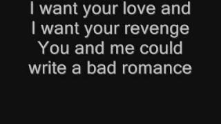 Lady GaGa - Bad Romance - Lyrics Resimi