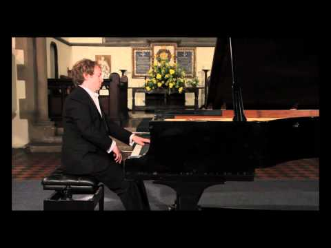 Ravel Jeux d'eau, Piano: Sebastian Stanley