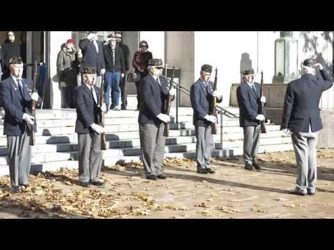 Veterans Day: American Legion Ceremony