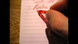 Video Fountain pen inks, Part III: red download MP3, 3GP, MP4, WEBM, AVI, FLV November 2017