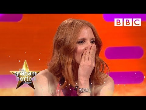 Jessica Chastain and Stephen Mangan talk dogging  The Graham Norton : Series 19 Episode 2  BBC