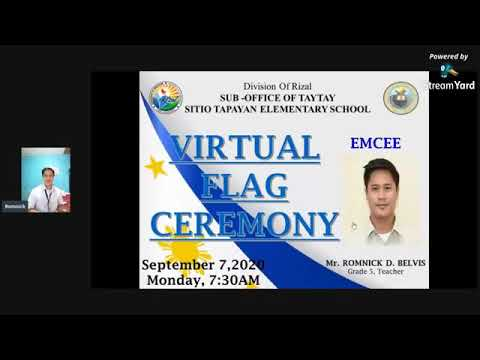 2nd Virtual Flag Ceremony September 7,2020