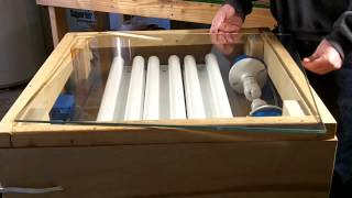 Home Built Screen Printing Exposure Unit Build Overview