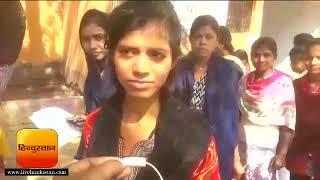 बिहार,गया : पहली पाली की परीक्षा देकर निकलती छात्रा II Bihar Board Intermediate Exam 2018