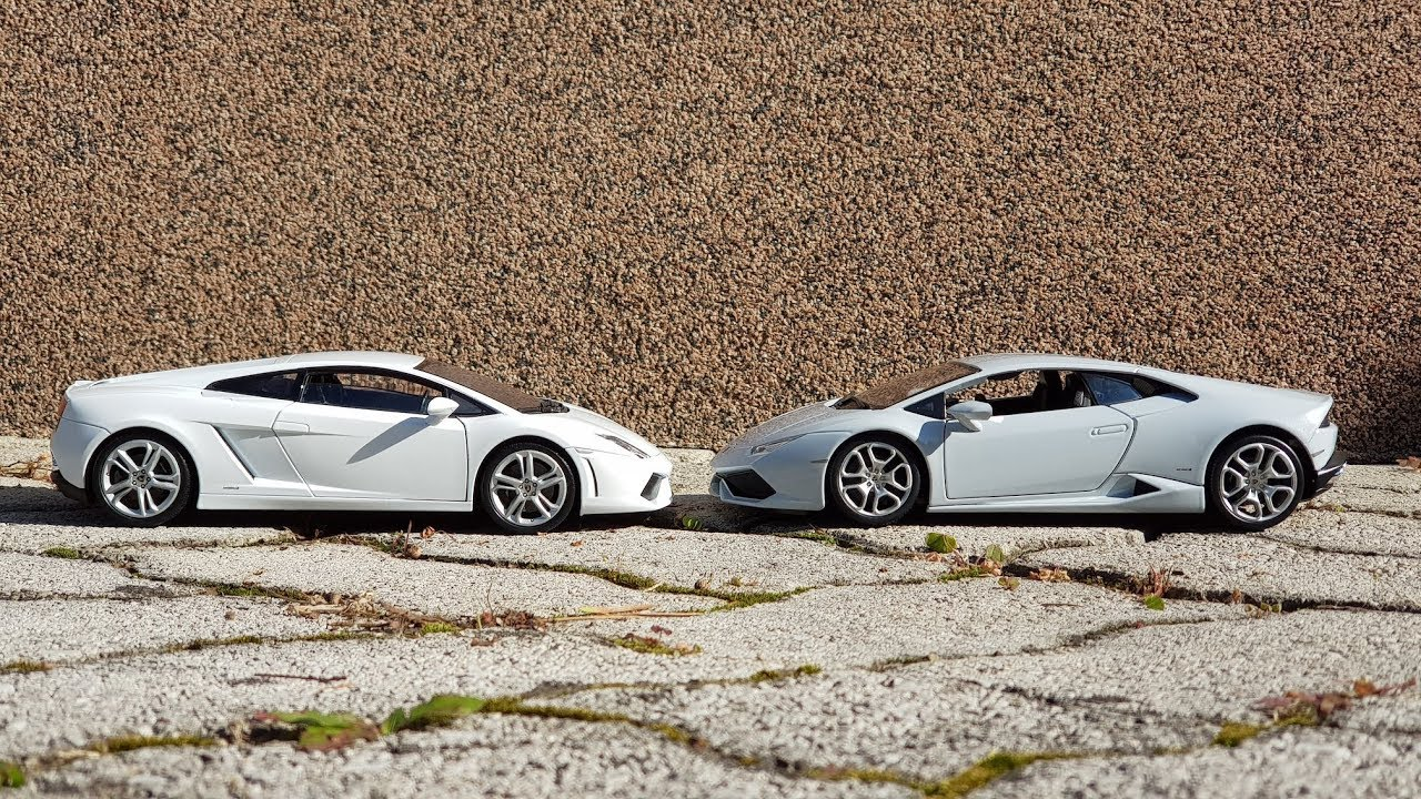 Lamborghini Gallardo Vs Huracan 1 18 Youtube