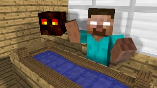 Monster School: Kids Mobs - Swimming (Minecraft Animation - Zombie Villager)
