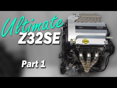 Ultimate Z32SE Part1 - Opel/GM 54° V6 Tuning - Opel Calibra V6