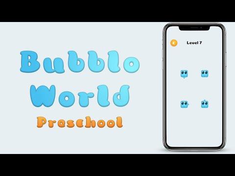 Bubblo World Preschool iPhone iOS Demo