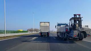 Wegvideo Hilversum: A1 Toerit N525》 Knooppunt Eemnes 》Knooppunt Hoevelaken》 A28 Utrecht.