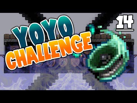 Terraria 1.3.1 Yo-Yo Expert Challenge    HOUSE FINISHED, UFO MOUNT, DUKE FAILRON [14]