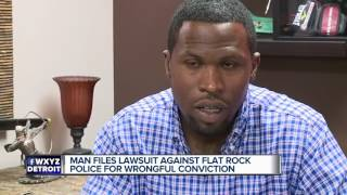 Man exonerated for murder sues Flat Rock police for $10 million