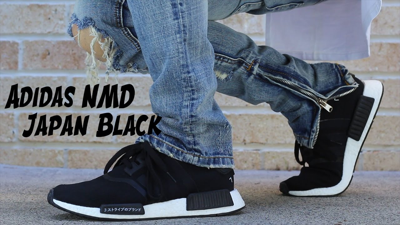 sports shoes ff567 8f23a I missed out on the restock! Adidas Nmd Japan Black | Streetwear Sneaker  Review with on foot