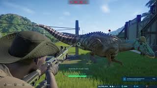 Jurassic World Evolution Cure All Common Cold in Dinosaur