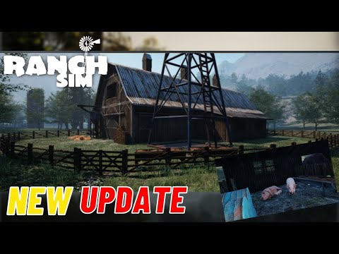Starting a New Ranch In Ranch Simulator || June Update In July || Buffer Zone Games |