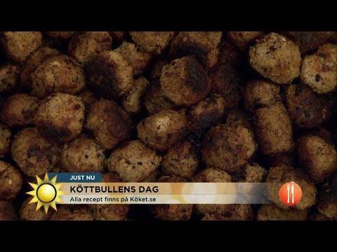 Laga godaste kttbullarna med Catenacci - Nyhetsmorgon (TV4)