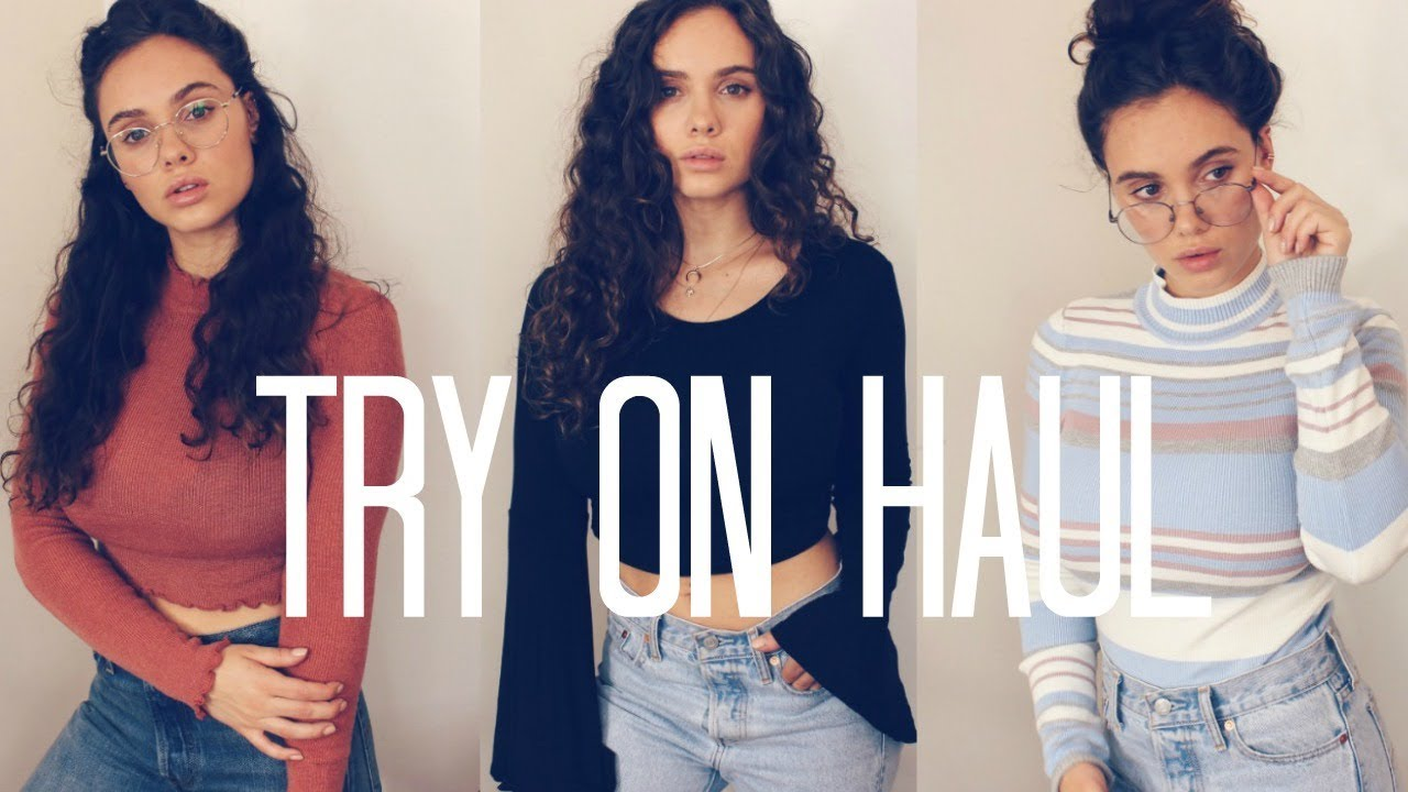 1c4a58c08e6 Fall Try On Clothing Haul 2017