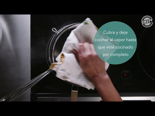 CHEF Culinary Skills: Steaming (Spanish)