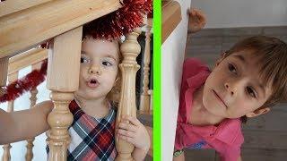 Waw | Un joc pentru copii interesant | De-a v-ati scunselea in casa | Anabella Show
