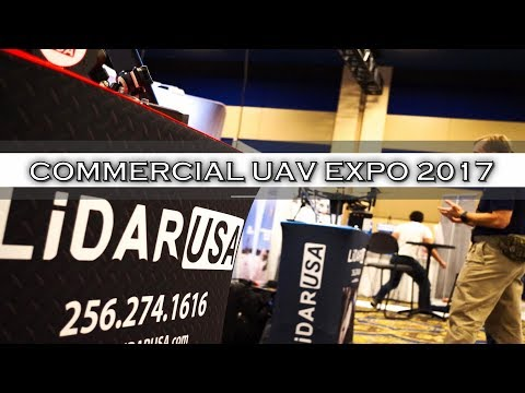 LiDAR USA at the Commercial UAV EXPO!
