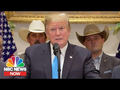 President Donald Trump Gives $16 Billion To Farmers: 'Good Time To Be A Farmer' | NBC News NOW