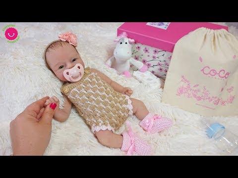 Mi Primer Bebé De SILICONA - Abriendo La Caja Sorpresa De Anuk Por CocoReborn