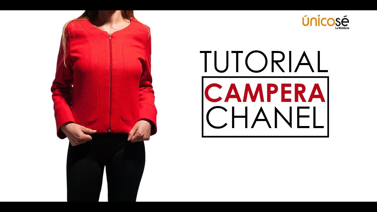 DIY Tutorial Costura : Chaqueta Chanel con forro. - YouTube
