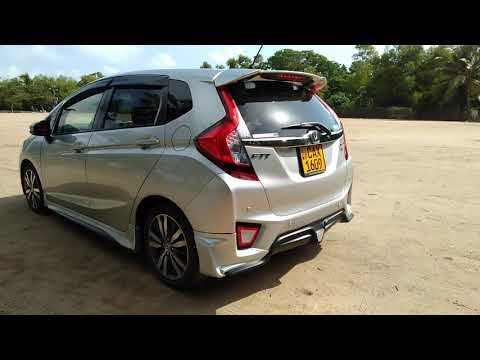 Honda fit gp5 MUGEN body kit Sri Lanka review