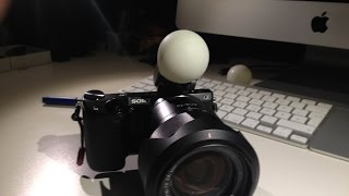 Diffuser for small flashes - Sony NEX Flash Blitz