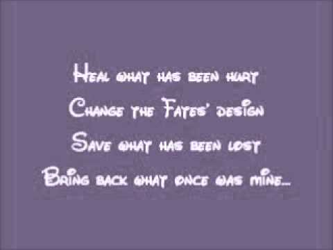 Tangled-Healing Incantation Lyrics