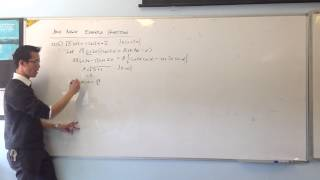 Solving Trig Equations w/ Auxiliary Angle (Example 2)
