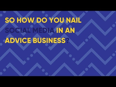 How To Use Social Media in a Financial Advice Business (XY Adviser Event)
