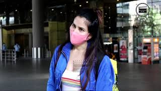 Sonnali Seygall Spotted At Airport