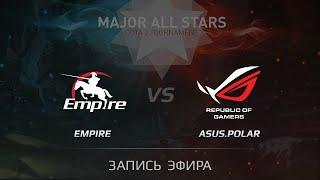 Empire vs ASUS Polar, Fallout EU Qualifier, WB Final, Game 2