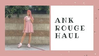 🛍 Ank Rouge Haul 🛍⎜August 2019