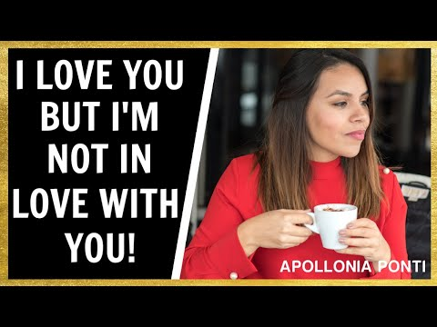 I Love You But Not In Love With You | What It REALLY Means!