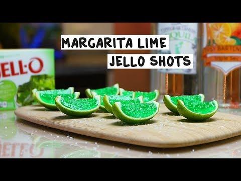 Margarita Lime Jello Shots