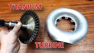 Турбовальный Проект с Титановой турбиной - 1 серия
