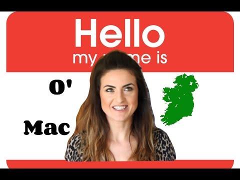 WTF!? Irish language (Gaelic) surnames EXPLAINED!