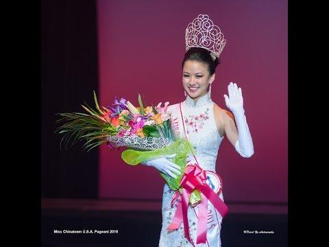 Miss Chinatown USA 2015年全美华埠小姐: Rose Li 李思佳