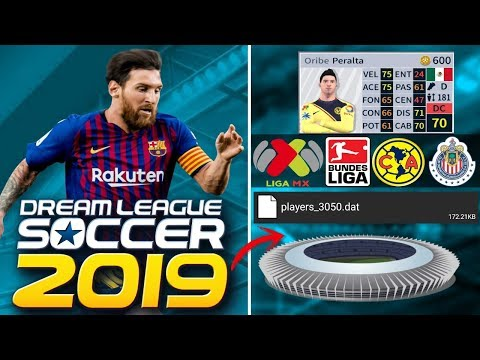 ARCHIVOS ÉPICOS EN DREAM LEAGUE SOCCER 2019 | ESTADIOS FICHAJES, ETC