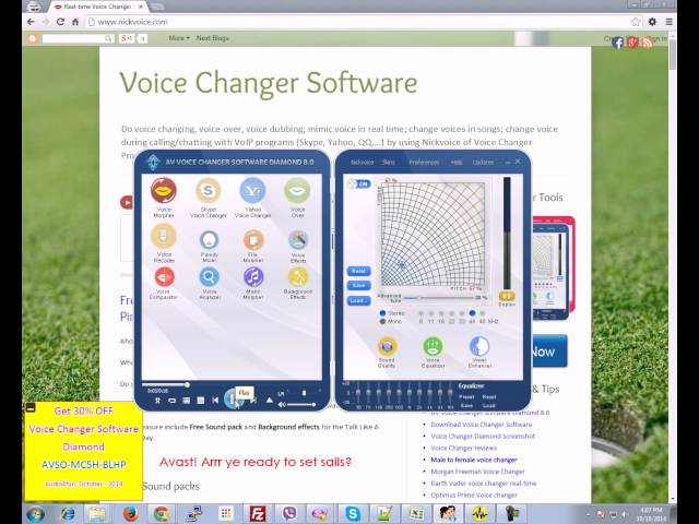 Create terrible voices for Halloween with Voice Changer