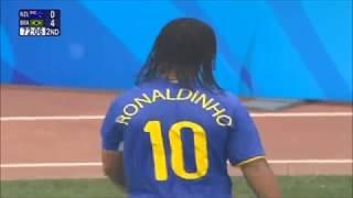 Ronaldinho vs New Zealand (10/08/2008)