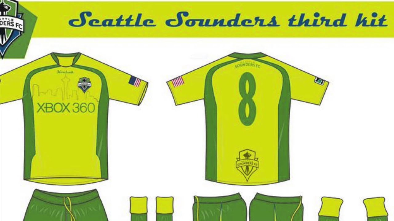 timeless design 329ab 99ed5 Seattle Sounders FC Concept Kits
